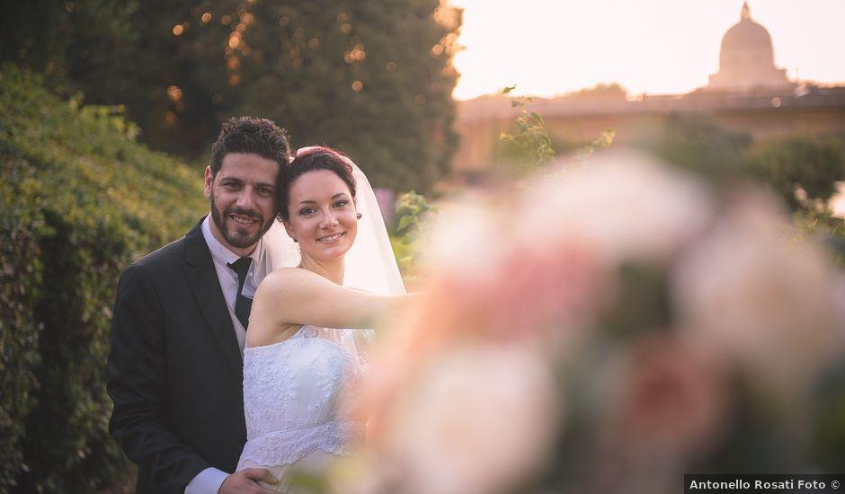 Il matrimonio di Mariafrancesca e Luca a Roma, Roma