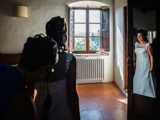 Il matrimonio di Emanuele e Veronica a Greve in Chianti, Firenze 15