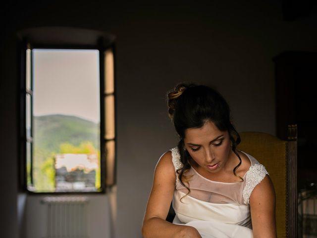 Il matrimonio di Emanuele e Veronica a Greve in Chianti, Firenze 18