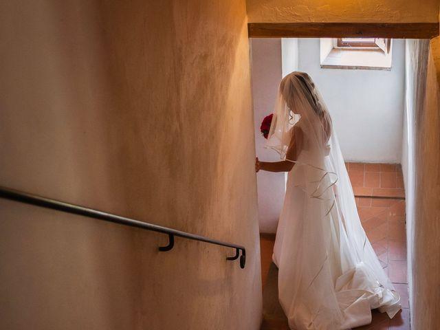 Il matrimonio di Emanuele e Veronica a Greve in Chianti, Firenze 21
