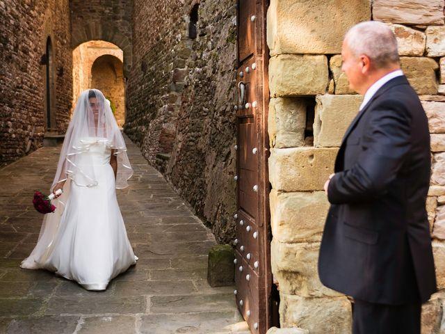 Il matrimonio di Emanuele e Veronica a Greve in Chianti, Firenze 22