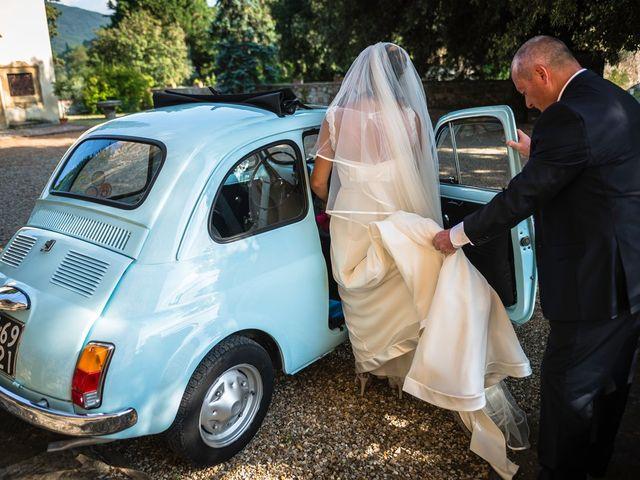 Il matrimonio di Emanuele e Veronica a Greve in Chianti, Firenze 25