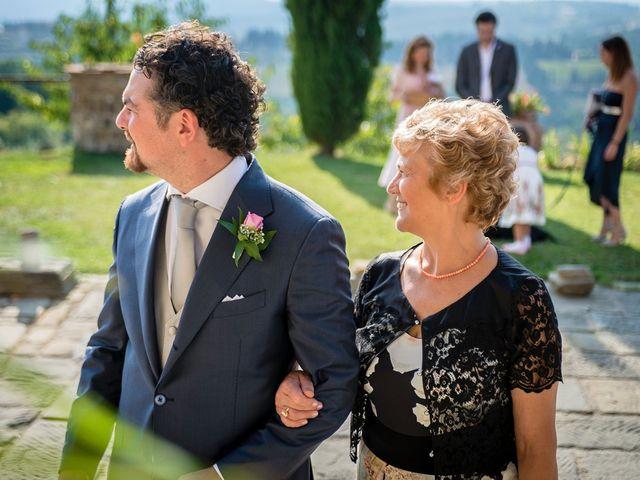 Il matrimonio di Emanuele e Veronica a Greve in Chianti, Firenze 27
