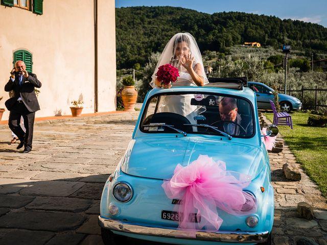 Il matrimonio di Emanuele e Veronica a Greve in Chianti, Firenze 29