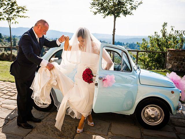 Il matrimonio di Emanuele e Veronica a Greve in Chianti, Firenze 30