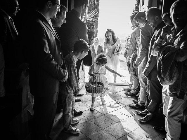 Il matrimonio di Emanuele e Veronica a Greve in Chianti, Firenze 32