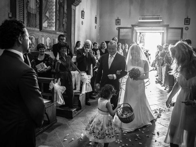 Il matrimonio di Emanuele e Veronica a Greve in Chianti, Firenze 34