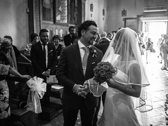 Il matrimonio di Emanuele e Veronica a Greve in Chianti, Firenze 35