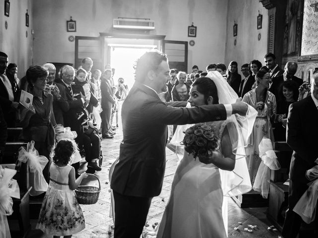 Il matrimonio di Emanuele e Veronica a Greve in Chianti, Firenze 36