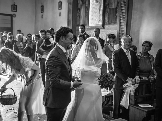 Il matrimonio di Emanuele e Veronica a Greve in Chianti, Firenze 37