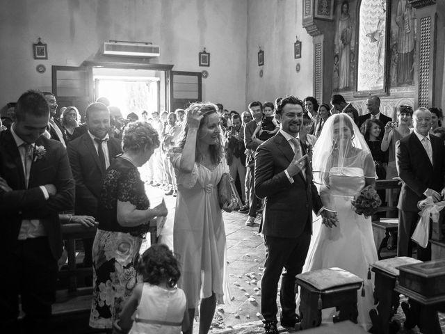Il matrimonio di Emanuele e Veronica a Greve in Chianti, Firenze 38