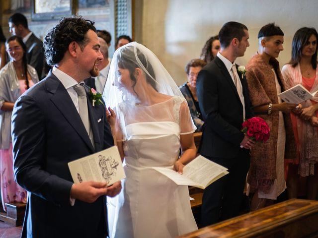 Il matrimonio di Emanuele e Veronica a Greve in Chianti, Firenze 43