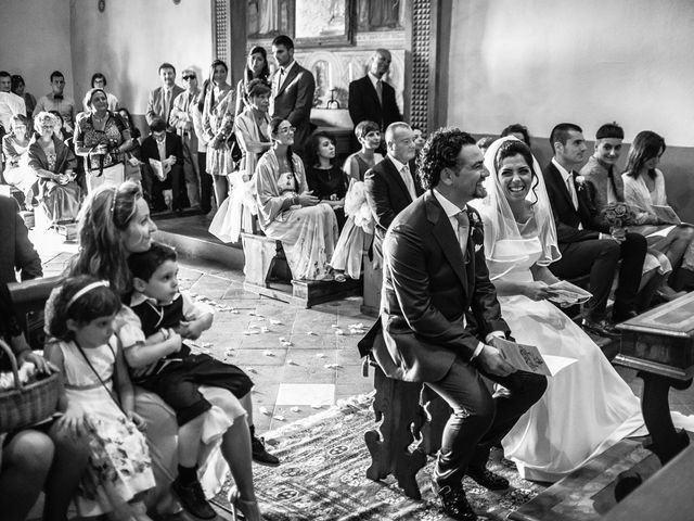 Il matrimonio di Emanuele e Veronica a Greve in Chianti, Firenze 46