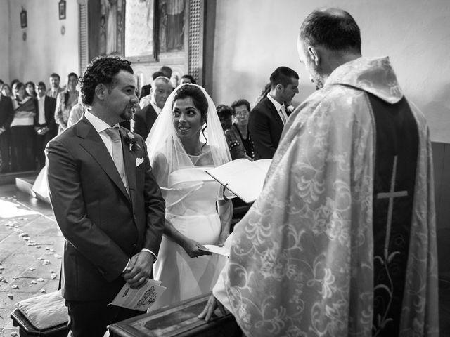 Il matrimonio di Emanuele e Veronica a Greve in Chianti, Firenze 48