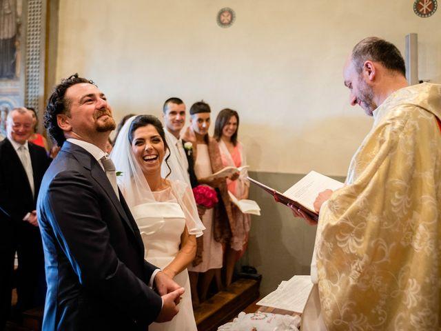 Il matrimonio di Emanuele e Veronica a Greve in Chianti, Firenze 53