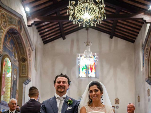 Il matrimonio di Emanuele e Veronica a Greve in Chianti, Firenze 55