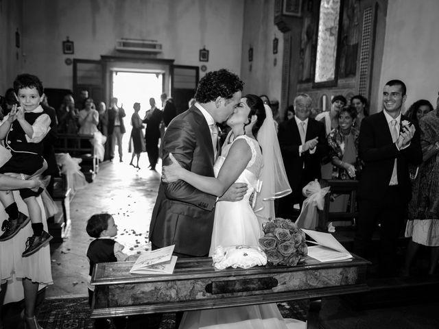 Il matrimonio di Emanuele e Veronica a Greve in Chianti, Firenze 56
