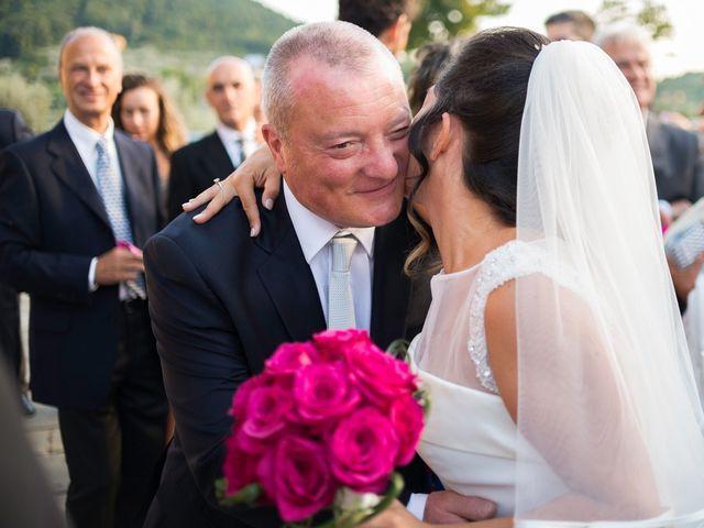 Il matrimonio di Emanuele e Veronica a Greve in Chianti, Firenze 58