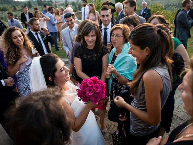 Il matrimonio di Emanuele e Veronica a Greve in Chianti, Firenze 60