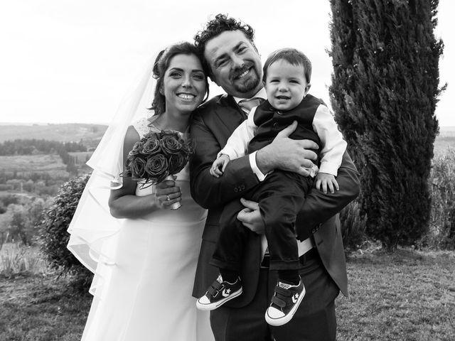 Il matrimonio di Emanuele e Veronica a Greve in Chianti, Firenze 62