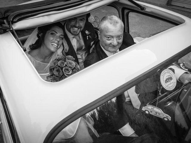 Il matrimonio di Emanuele e Veronica a Greve in Chianti, Firenze 63