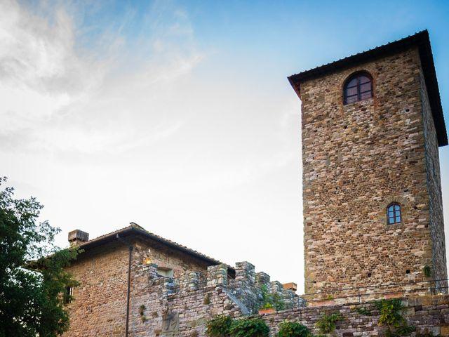 Il matrimonio di Emanuele e Veronica a Greve in Chianti, Firenze 67