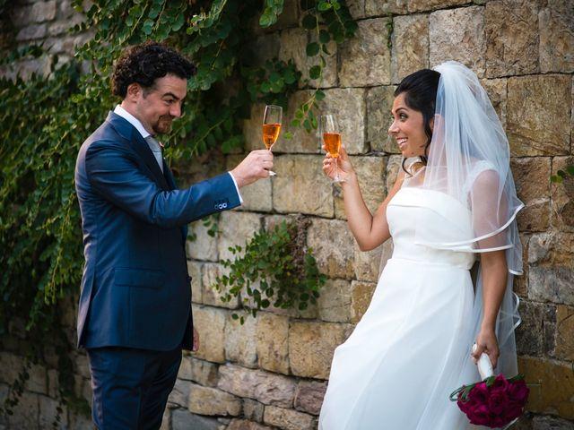 Il matrimonio di Emanuele e Veronica a Greve in Chianti, Firenze 76