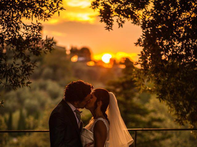 Il matrimonio di Emanuele e Veronica a Greve in Chianti, Firenze 78
