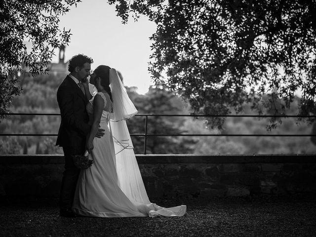 Il matrimonio di Emanuele e Veronica a Greve in Chianti, Firenze 79