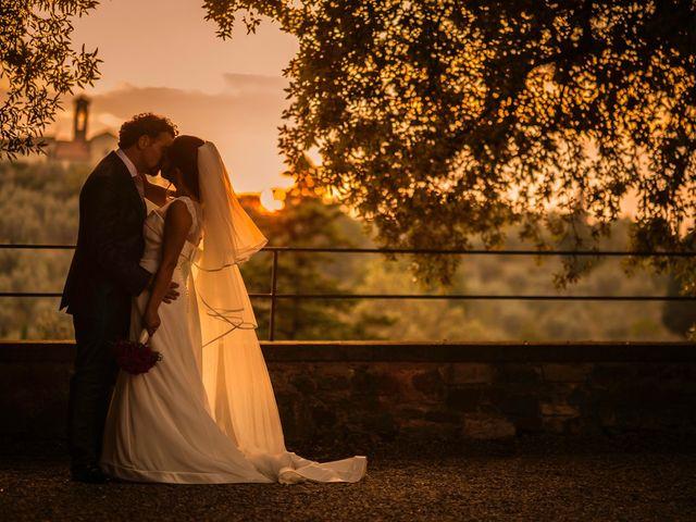 Il matrimonio di Emanuele e Veronica a Greve in Chianti, Firenze 80