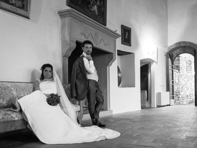 Il matrimonio di Emanuele e Veronica a Greve in Chianti, Firenze 82