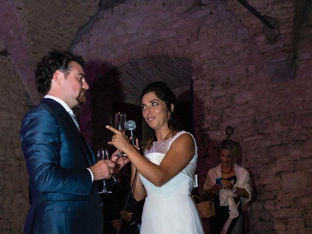 Il matrimonio di Emanuele e Veronica a Greve in Chianti, Firenze 92
