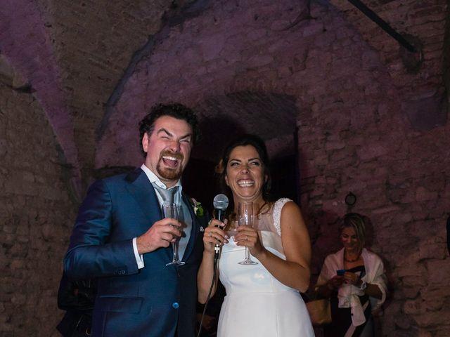Il matrimonio di Emanuele e Veronica a Greve in Chianti, Firenze 93