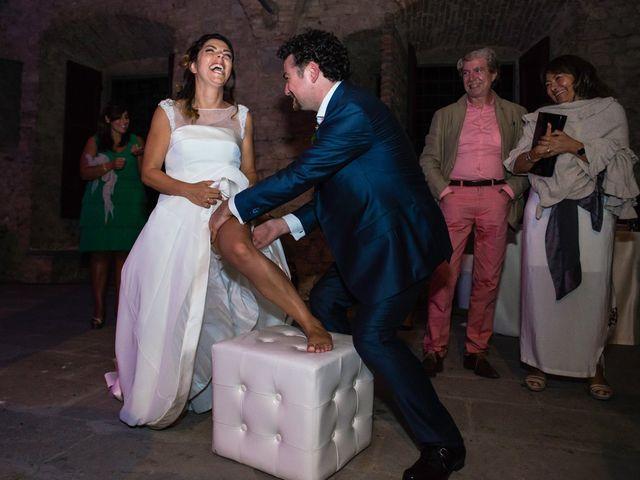Il matrimonio di Emanuele e Veronica a Greve in Chianti, Firenze 97
