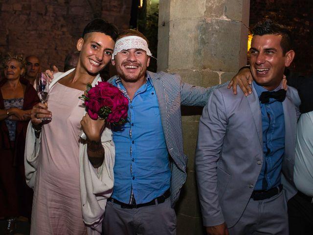 Il matrimonio di Emanuele e Veronica a Greve in Chianti, Firenze 99