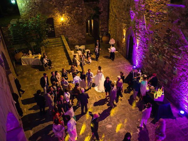 Il matrimonio di Emanuele e Veronica a Greve in Chianti, Firenze 102
