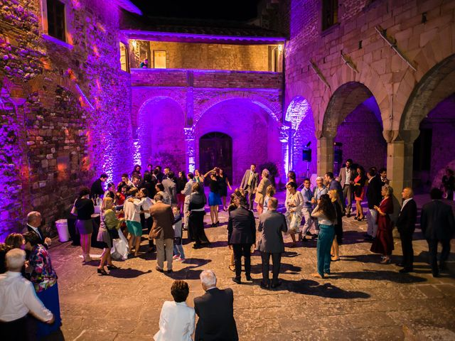 Il matrimonio di Emanuele e Veronica a Greve in Chianti, Firenze 103