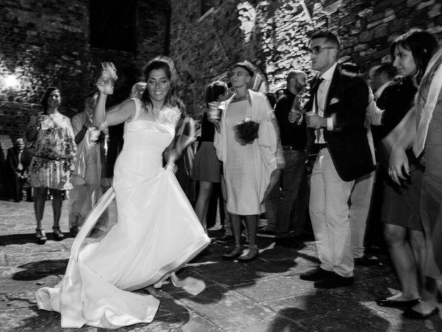 Il matrimonio di Emanuele e Veronica a Greve in Chianti, Firenze 104