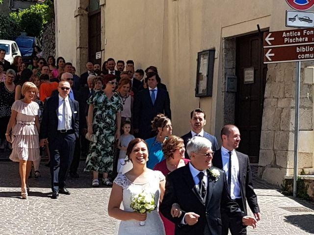 Il matrimonio di Daniele  e Fania  a Roviano, Roma 1