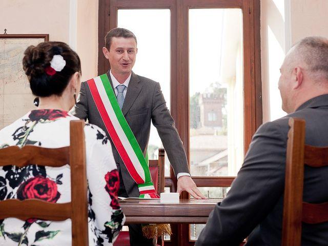 Il matrimonio di Mauro e Monica a Salussola, Biella 19