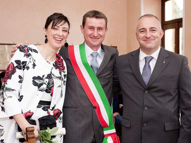Il matrimonio di Mauro e Monica a Salussola, Biella 48