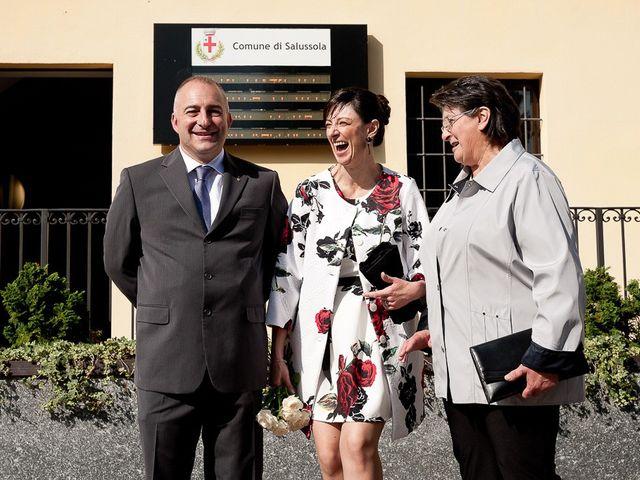 Il matrimonio di Mauro e Monica a Salussola, Biella 54