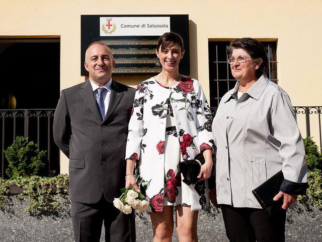 Il matrimonio di Mauro e Monica a Salussola, Biella 55
