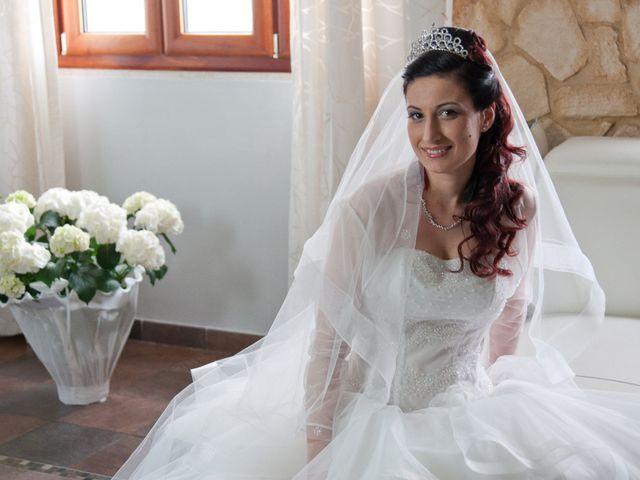 Il matrimonio di Mauro e Francesca a Sant'Angelo Romano, Roma 9