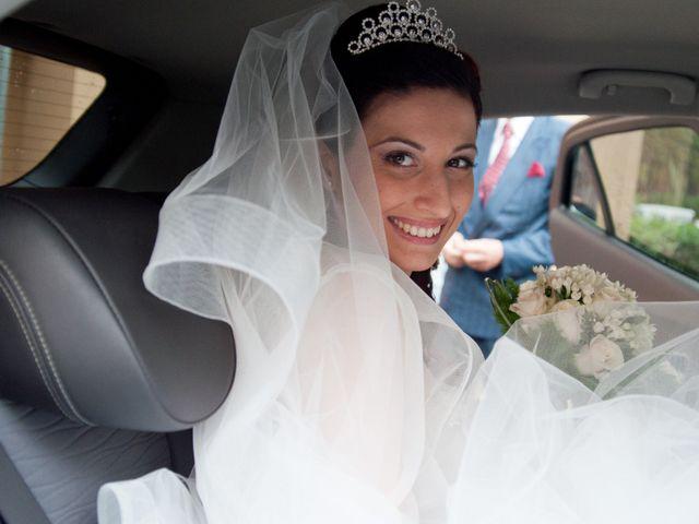 Il matrimonio di Mauro e Francesca a Sant'Angelo Romano, Roma 12