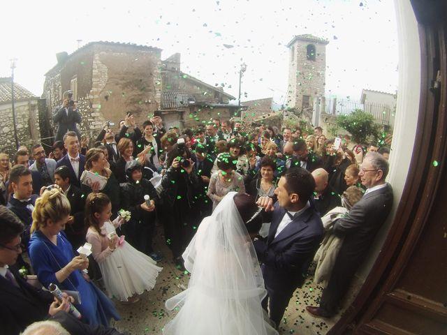 Il matrimonio di Mauro e Francesca a Sant'Angelo Romano, Roma 13