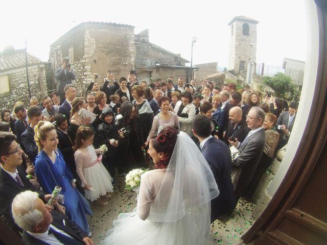 Il matrimonio di Mauro e Francesca a Sant'Angelo Romano, Roma 14