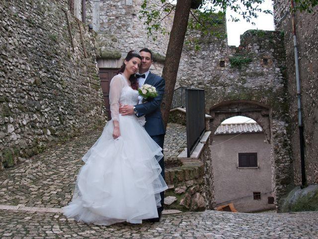 Il matrimonio di Mauro e Francesca a Sant'Angelo Romano, Roma 17