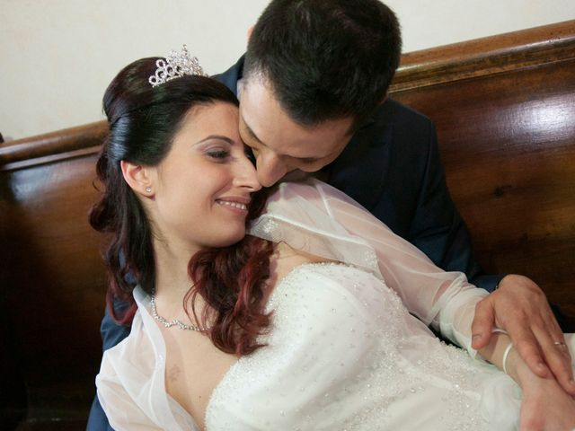 Il matrimonio di Mauro e Francesca a Sant'Angelo Romano, Roma 18