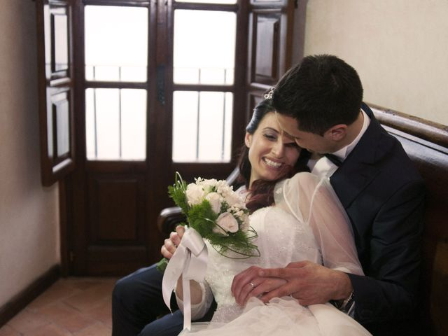 Il matrimonio di Mauro e Francesca a Sant'Angelo Romano, Roma 19